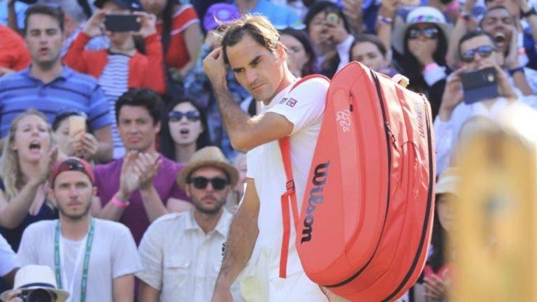 McEnroe: «Pela primeira vez em 18 meses, o Federer pareceu humano»