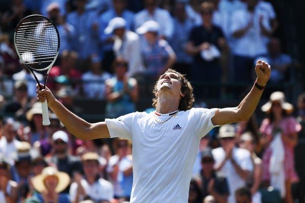 Alexander Zverev: «Seria um sonho defrontar o Federer na final em Wimbledon»