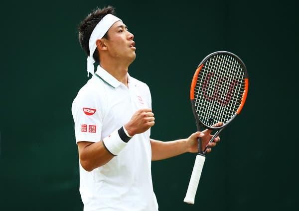 Nishikori confessa: «Sinto que podia ter vencido Wimbledon»