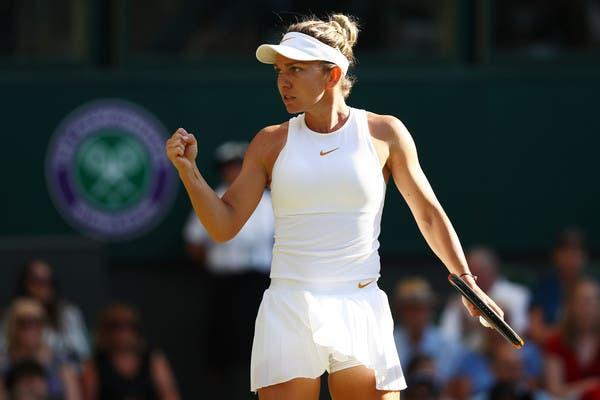 Número um Halep inicia campanha em Wimbledon com vitória