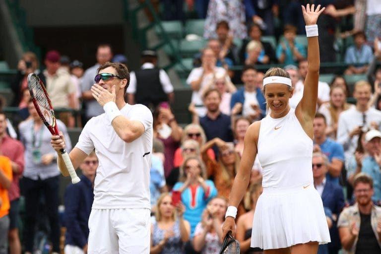Jamie Murray e Azarenka conquistam lugar na final de pares de Wimbledon