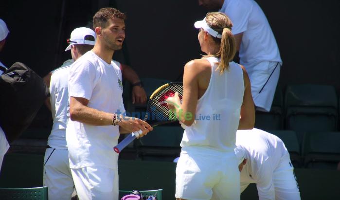 Maria Sharapova & Grigor Dimitrov: o reencontro
