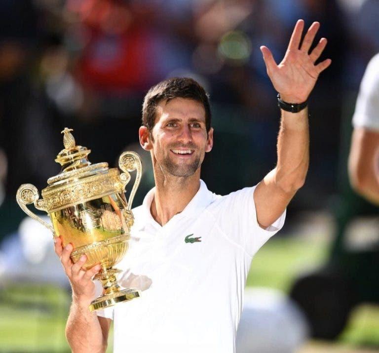 Djokovic é o jogador com ranking mais baixo a vencer Wimbledon desde 2001
