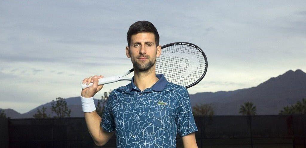 Djokovic desvenda equipamento para a digressão norte-americana