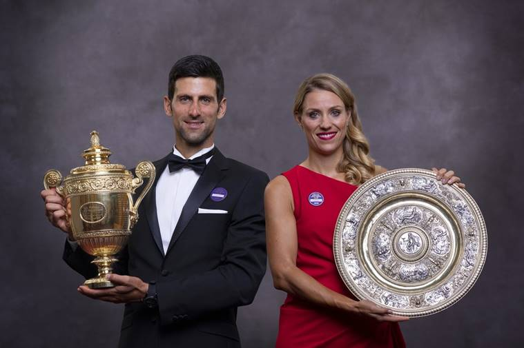 Rankings: Djokovic, Anderson, Kerber e Serena premiados após brilharem em Wimbledon