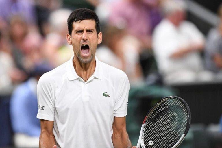 Djokovic bateu um jogador do Big 4 em todos os Grand Slams que venceu