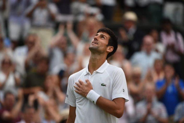 Djokovic tranquilo para a final: «Olhando para os dois últimos anos, não tenho muito a perder»
