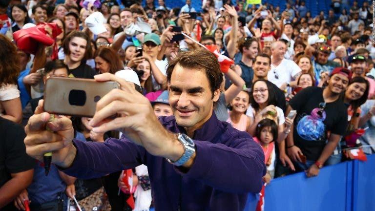 Federer: «Recebo 15-20 cartas todas as semanas e tento responder»