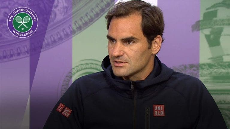 Federer sobre Kyrgios: «Ele ficaria feliz com um Grand Slam ou com 20?»