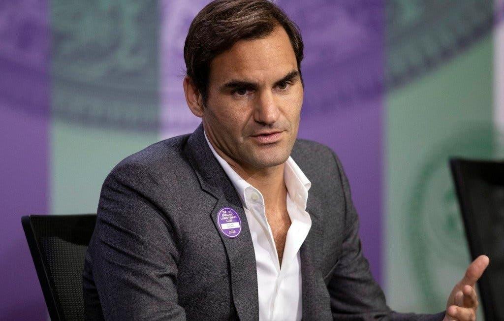 Federer: «Fui testado sete vezes no último mês»