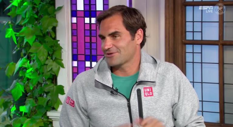 Federer: «Falhar Roland Garros e a terra batida foi bom para a minha mulher»