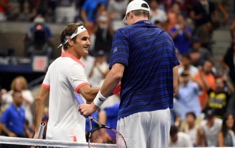 Isner: «Defrontar o Federer na final em Miami é um grande momento para mim»