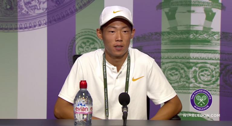 Tseng: «O meu ídolo é o Kei Nishikori. Tenho uma foto com ele!»