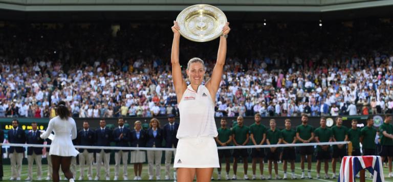 Kerber: «Sem a crise de 2017 não tinha sido campeã em Wimbledon»