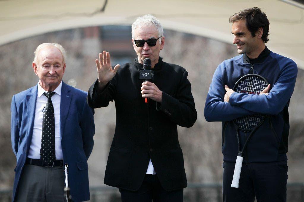 Como McEnroe lidaria com o SABR de Federer: «Tentava acertava-lhe na cabeça com toda a força»