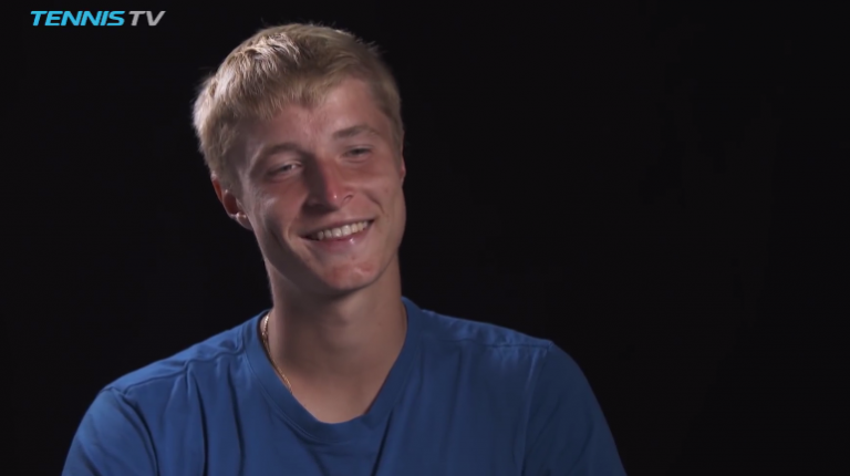 Molleker: «No ano passado derrotei o jogador que acabou por ganhar o título»