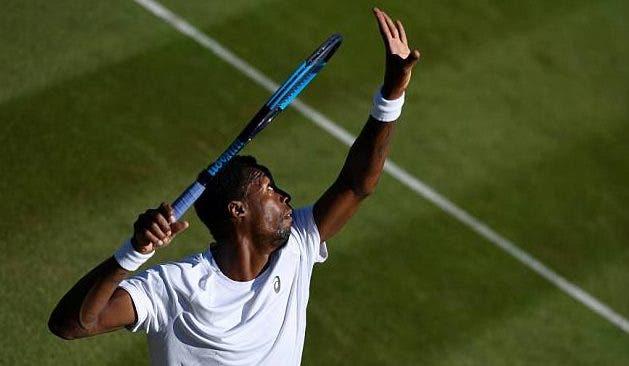 Monfils lesionou-se num treino e fica em dúvida para Wimbledon