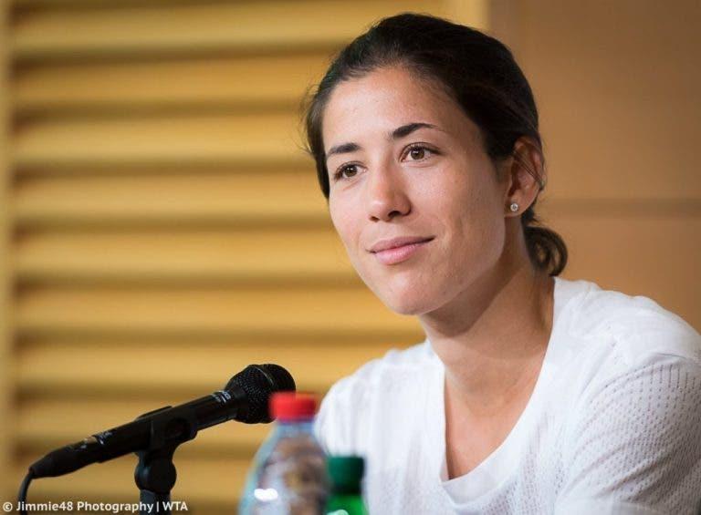 Muguruza admite: «A minha relação com o meu treinador é intensa»