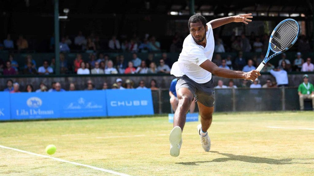 Ramanathan alcança triunfo inédito e chega à primeira final ATP da carreira em Newport