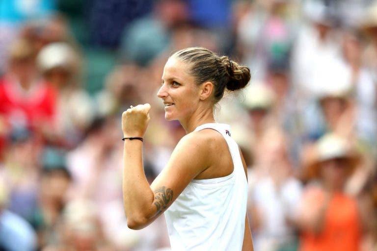Pliskova vira resultado e mantém-se viva em Wimbledon