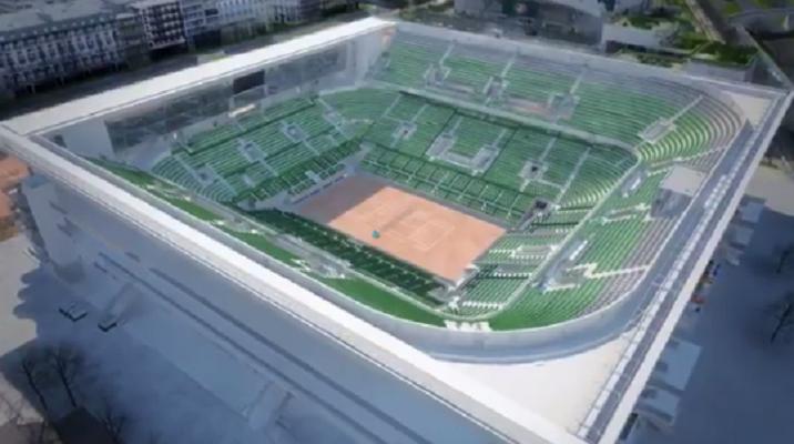 [VÍDEO] Roland Garros divulga vídeo impressionante com a renovação do Philipp Chatrier