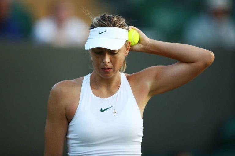 Maria Sharapova põe um ponto final na sua temporada