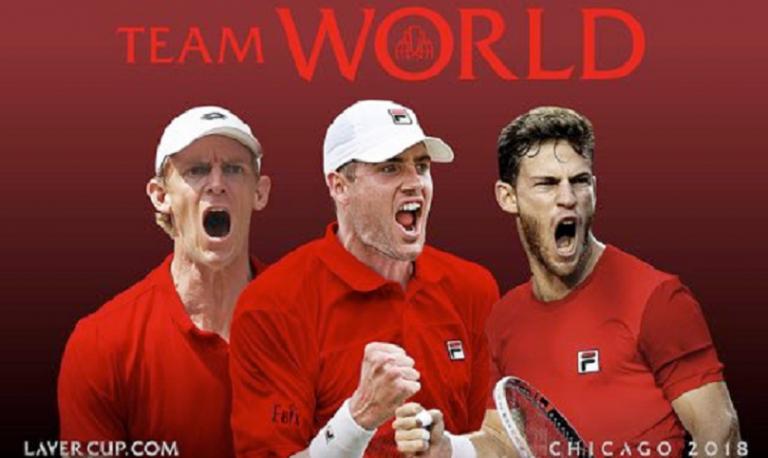 Laver Cup. Trio de luxo junta-se a Kyrgios e Del Potro na equipa do Mundo