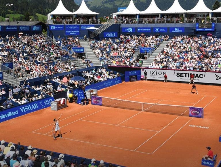 'Hawk Eye'. WTA Gstaad. Cornet vs Stosur