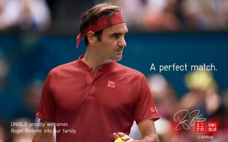 [FOTOS] Eis o que a Uniqlo preparou para Federer vestir no US Open