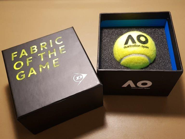 [FOTOS] Conheça a nova bola (Dunlop) do Australian Open