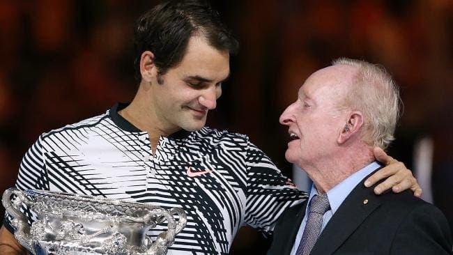 Rod Laver: «Federer tem sérias hipóteses de ganhar Grand Slams com mais de 40 anos»