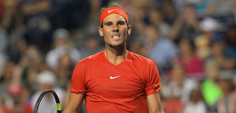 Rafa Nadal derrota aniversariante Stefanos Tsitsipas rumo ao 5.º título de 2018