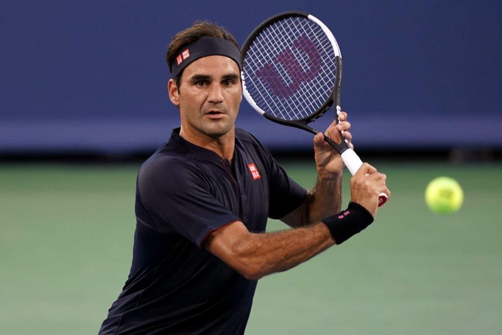 Federer regressa à competição com triunfo e segue para os 'oitavos' em Cincinnati