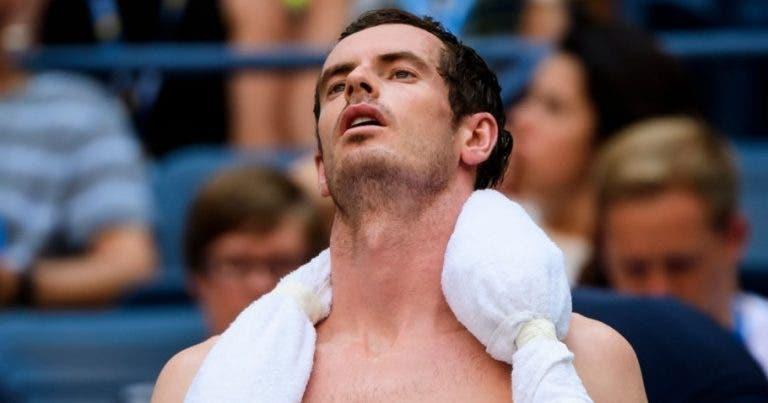 Andy Murray revela que sofreu lesão na Davis Cup