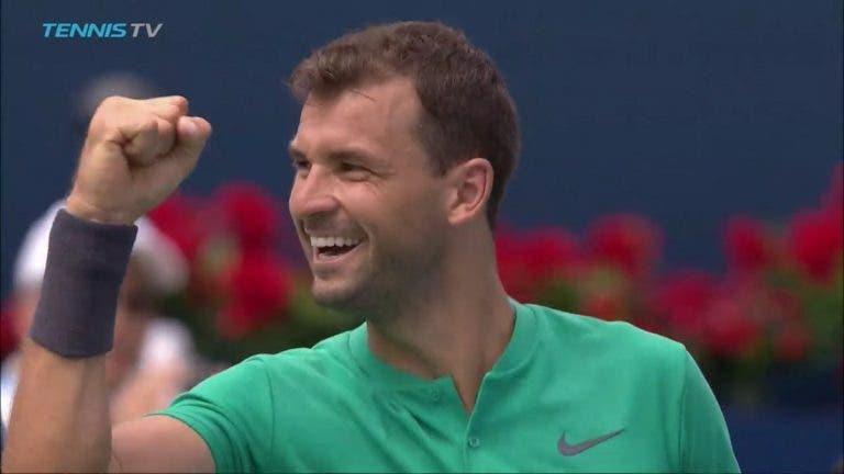 Dimitrov: «Tenho o mesmo nível de Djokovic ou Nadal»