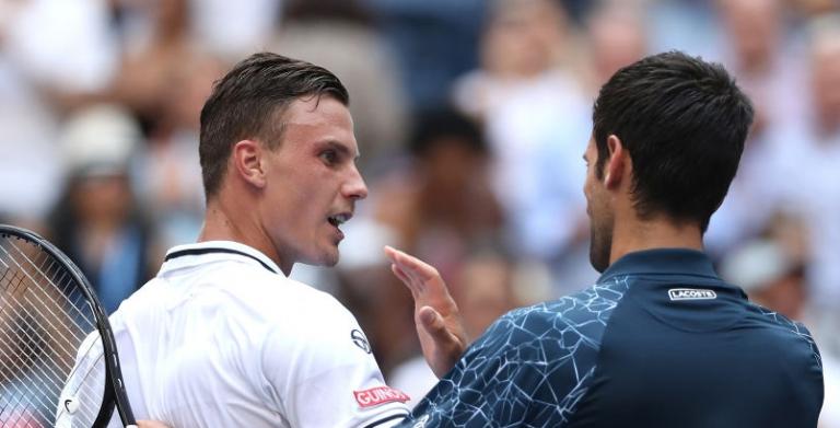 Djokovic e o heat break a meio do encontro: «Eu e o Fucsovics fomos nus para o banho de gelo»