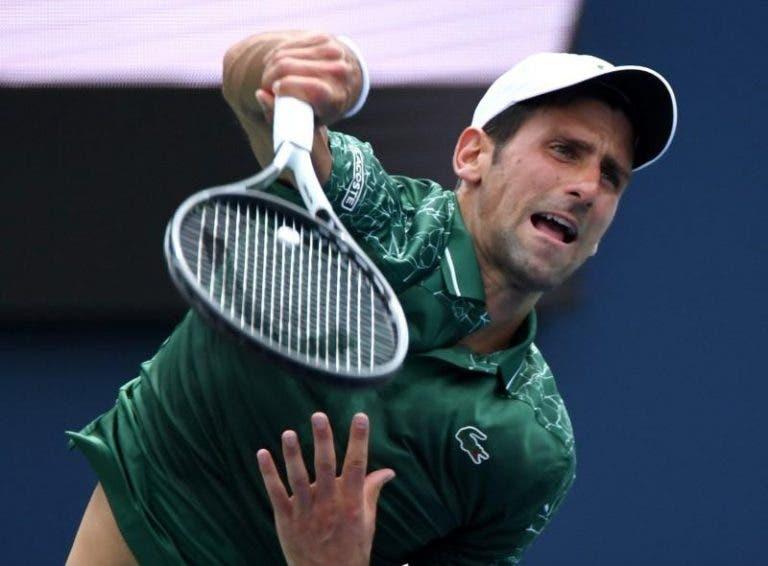 Djokovic: «Vai ser a minha sexta final aqui. Espero que consiga ganhar e levar o título pela primeira vez»