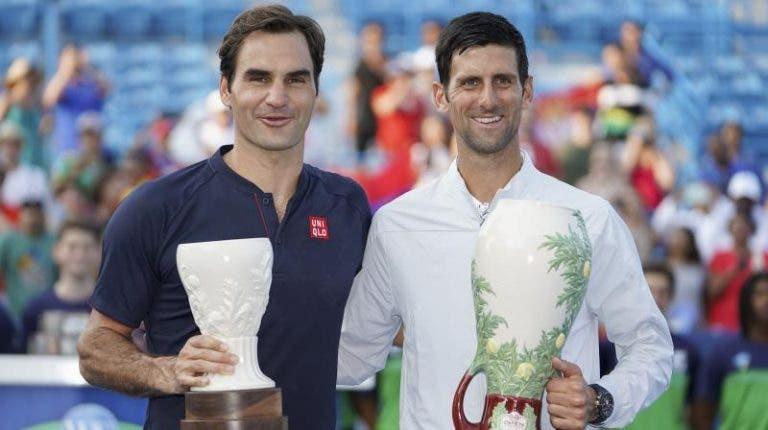 Federer enaltece feito de Djokovic mas diz que é repetível