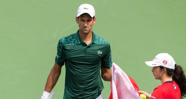 Novak Djokovic entra com vitória em Cincinnati ao NONO match point