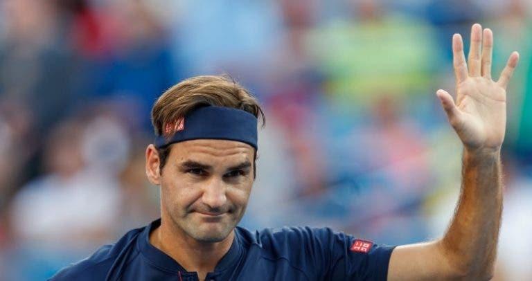 Rusedski: «Federer está bem fisicamente e não pode ser descartado para o US Open»