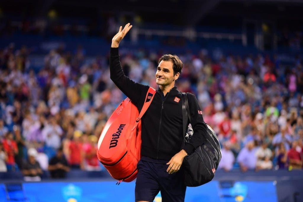 O que carrega Federer na mala que leva para o court?