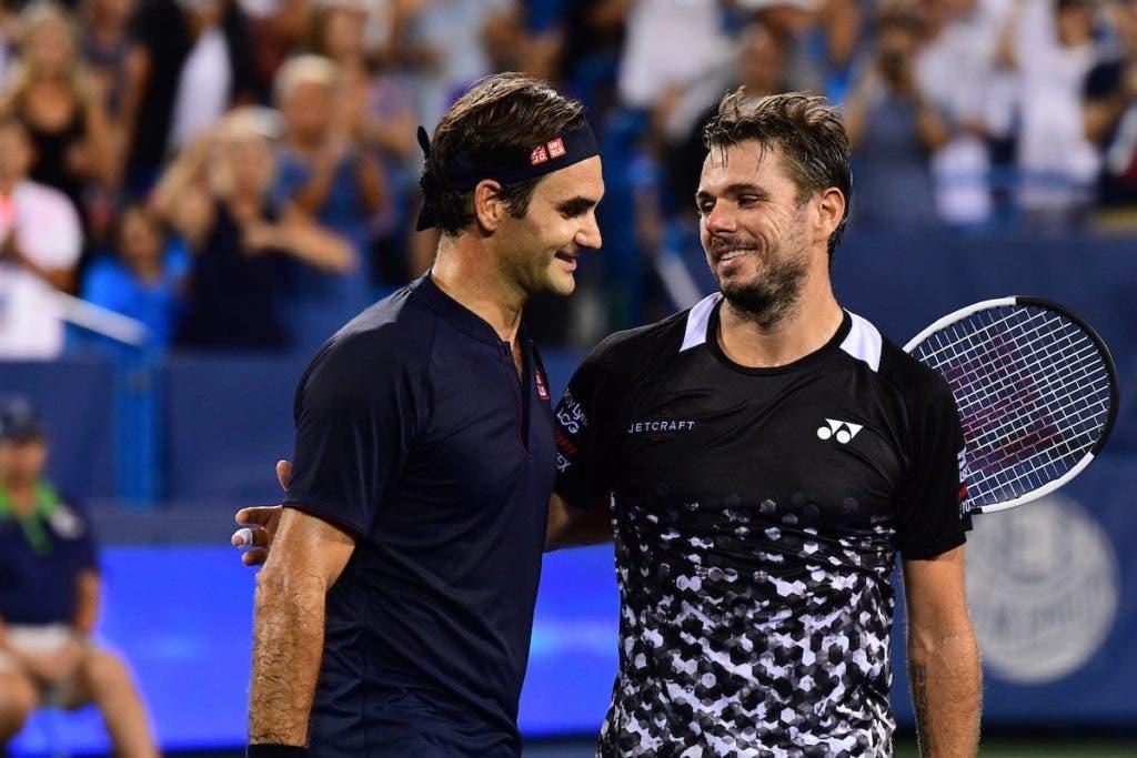[VÍDEO] Federer bateu Wawrinka com pontos… assim