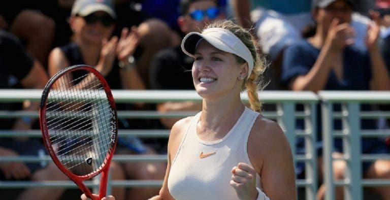 Bouchard é a única não europeia no WTA de Praga