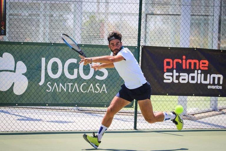 Gil continua inspirado e já está nas meias-finais de novo torneio em Sintra