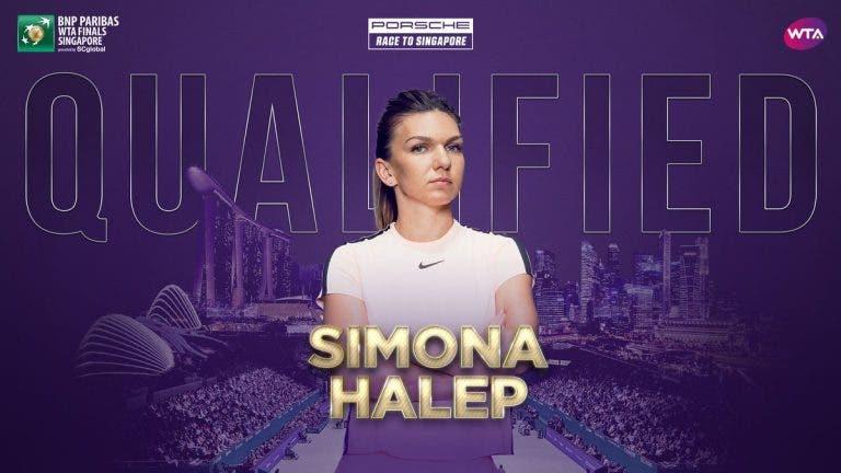 Simona Halep e a qualificação para para Singapura: «É uma honra»