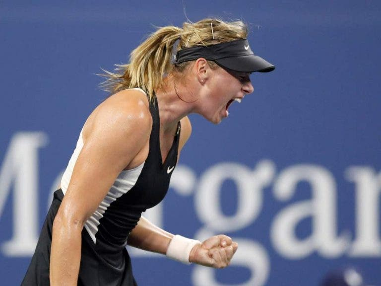 Sharapova supera Cirstea rumo à terceira ronda do US Open