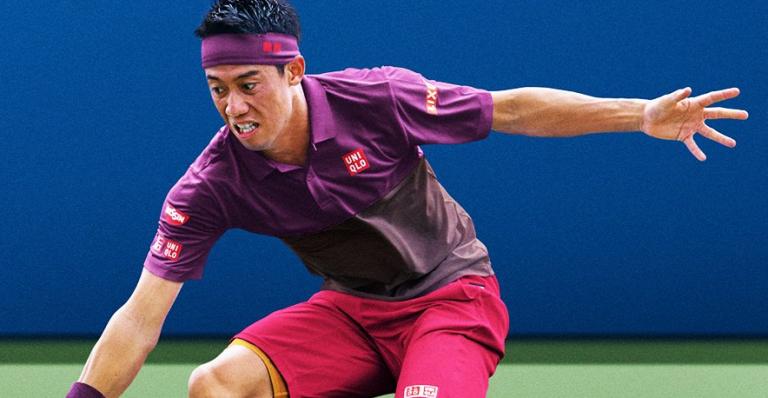 [FOTOS] Uniqlo com estratégia diferente para o equipamento de Nishikori no US Open