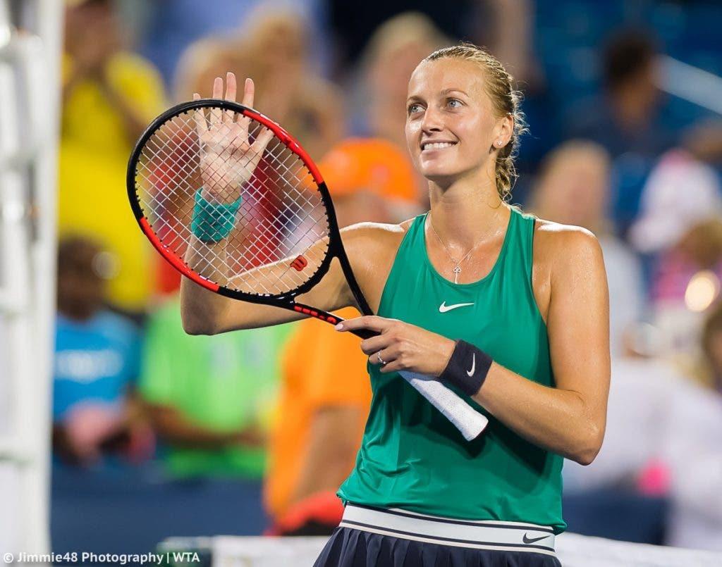 Kvitova: «Foi um dos meus melhores encontros do ano, sem dúvida»