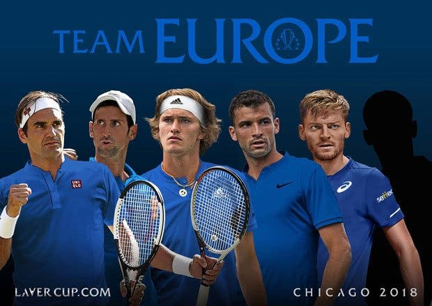 Laver Cup. Federer e e Djokovic com reforço de luxo na equipa Europa