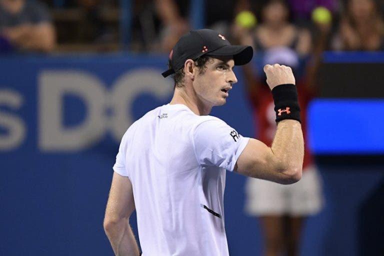 Murray continua a trabalhar para 2019 e vai jogar dois ATP 250 em fevereiro